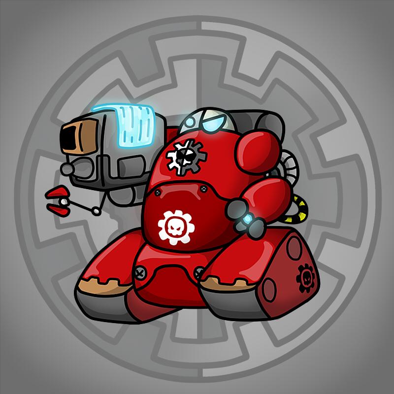 Carbot Warhammer 40K Kataphron breacher by CountryGump