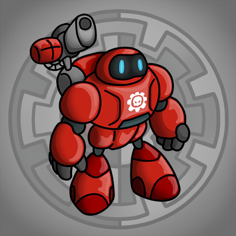 Carbot Warhammer 40K Kastellan robot by CountryGump