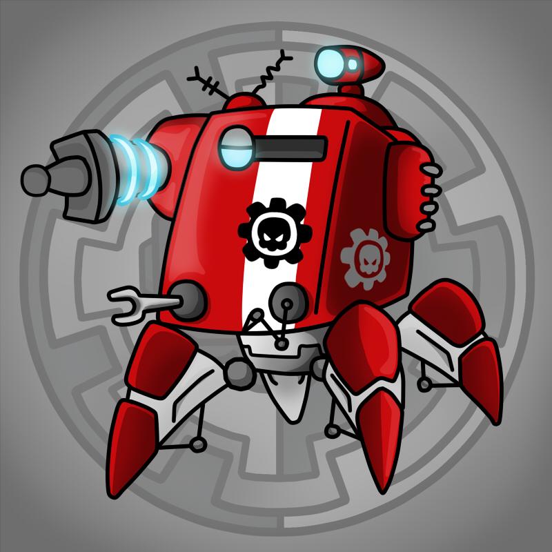 Carbot Warhammer 40K Onager dunecrawler by CountryGump
