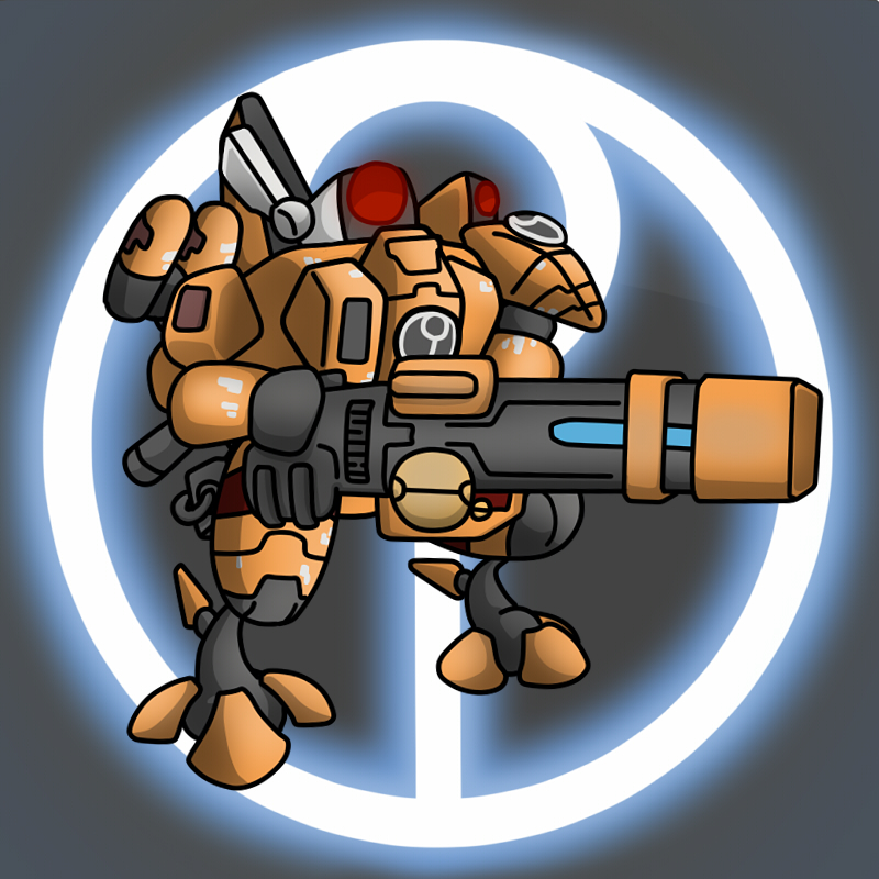 Carbot Warhammer Tau XV88 Broadside Battlesuit 6th by CountryGump