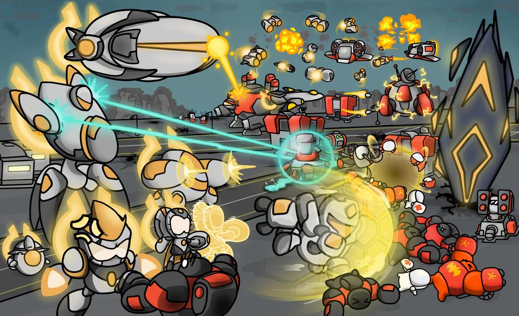 Star Craft  Dominion Train Defile Bone