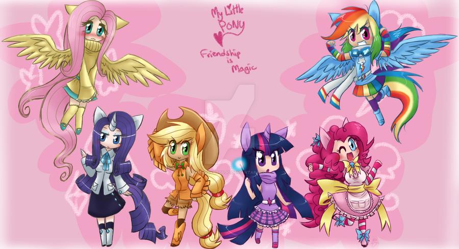moe little pony by FENNEKlNS