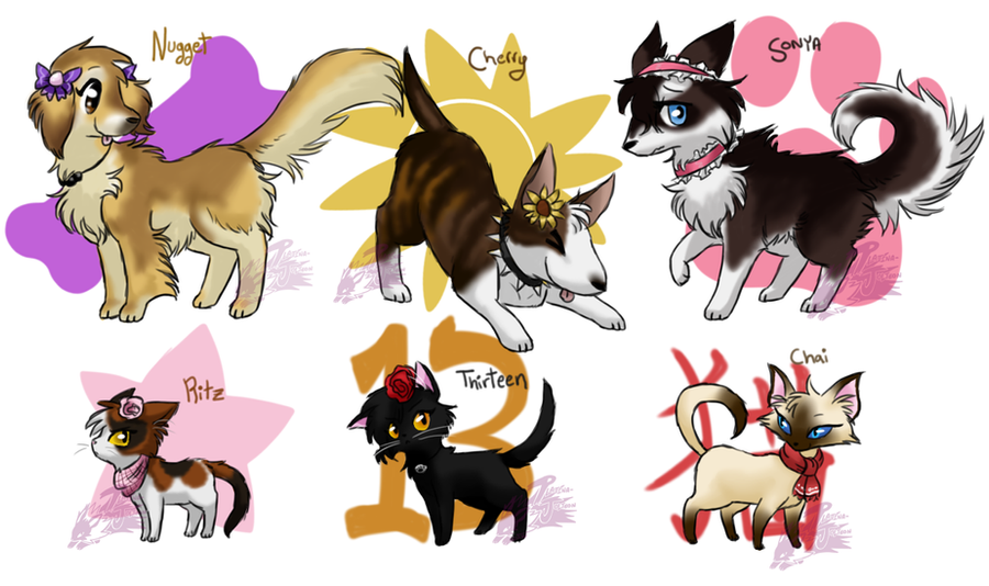 Nintendogs + Cats by FENNEKlNS on DeviantArt