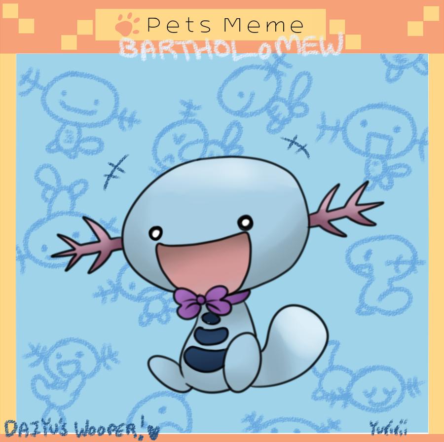 Armonia Pets Meme-Daiyu's Wooper