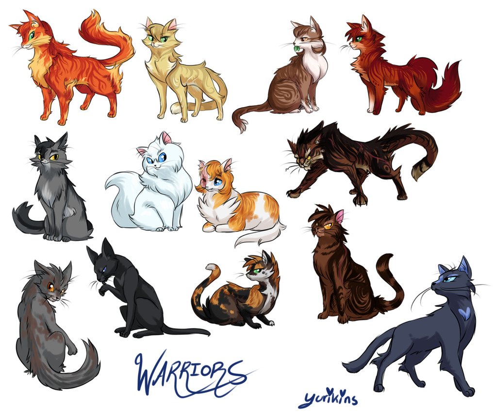 Warrior Cats By FENNEKlNS On DeviantArt