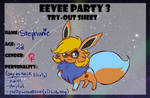 Eevee Party 3 try-out