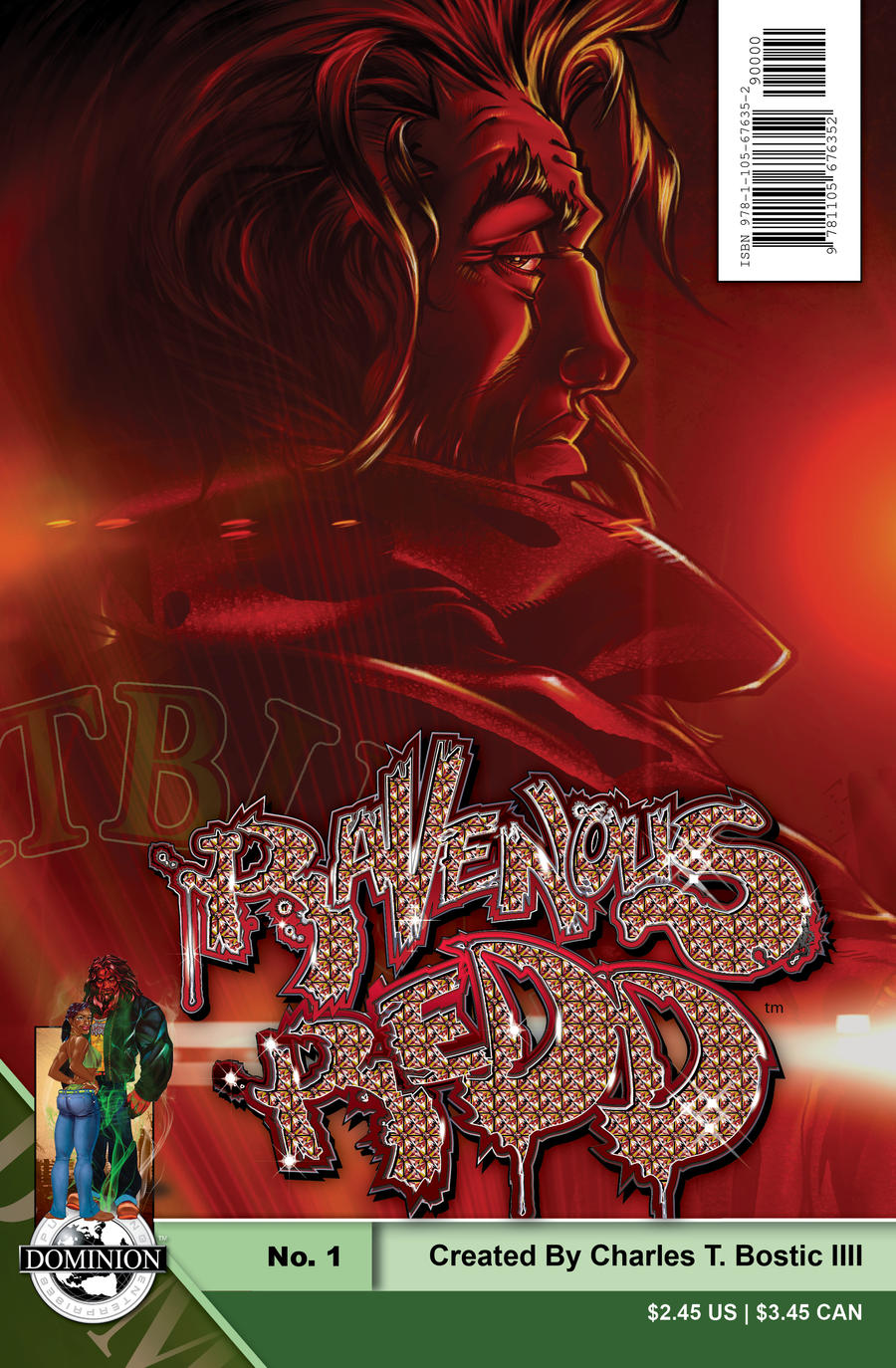 Cover to Ravenous Redd No.0 by onetitan
