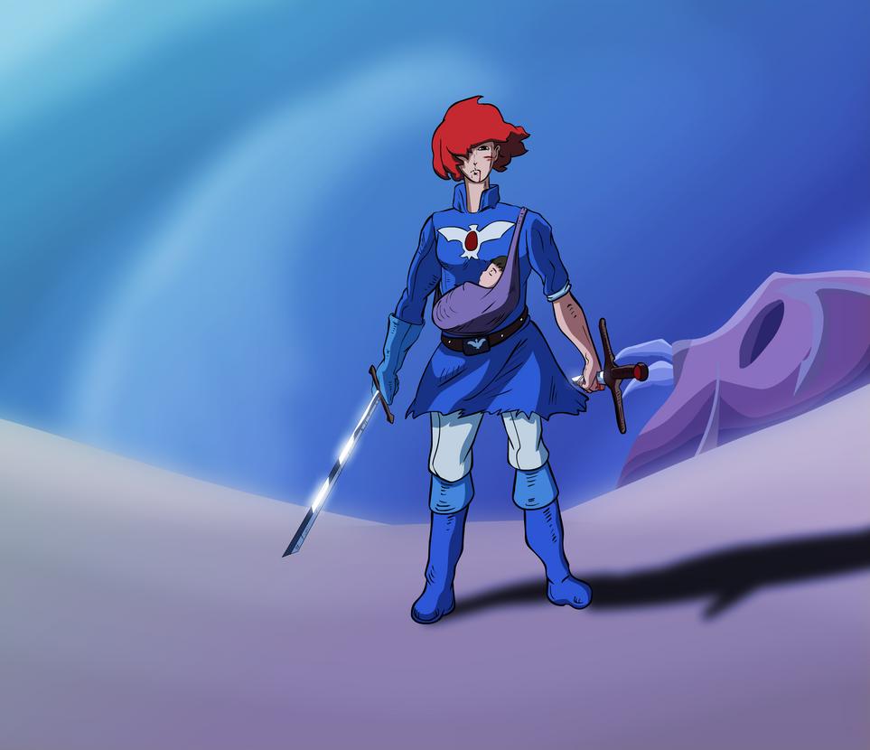 Nausicaa the blue prophet by AlbinoRice