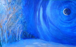 Winter Scene by PTPenguino
