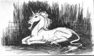 Unicorn by PTPenguino