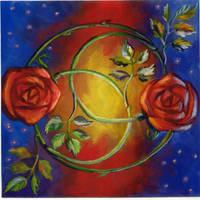 Rainbow Roses by PTPenguino