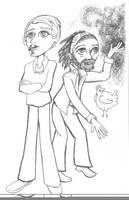 Ferdinand and Fitzgerald by PTPenguino