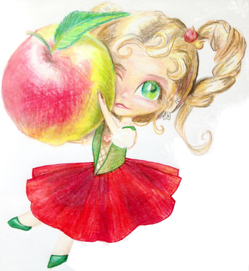 Apple by PTPenguino