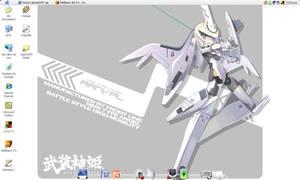 Arnval on XP desktop Mac Style by halconfenix