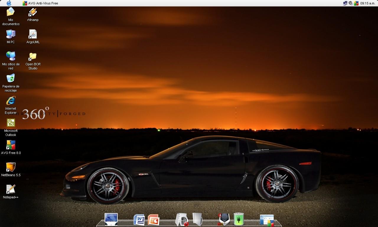 Tuned Z06 Desktop