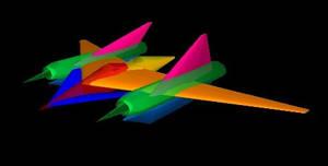 Old Workz: ColorPhantom doodle by halconfenix