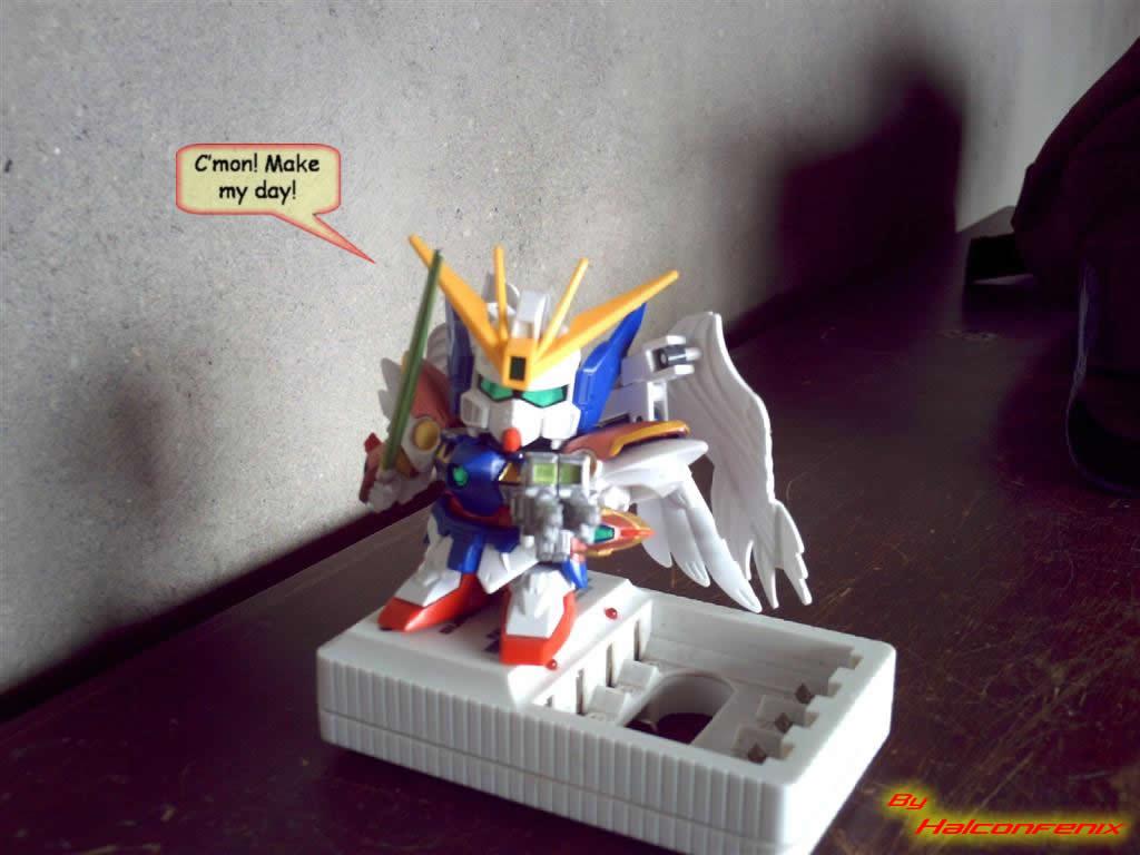 Weird Toyz: Chibi Zero by halconfenix