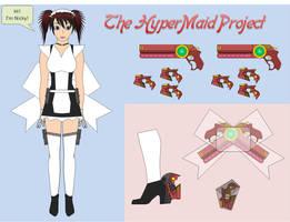 HyperMaid Project - Nicky by halconfenix