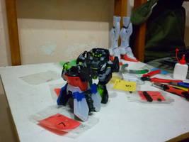 Weird Toyz: the troll on the gundam pt8 by halconfenix