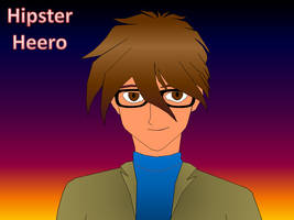 Powerpoint Trace - Hipster Heero by halconfenix