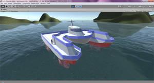 SeaCutter Unity Test (WIP) by halconfenix