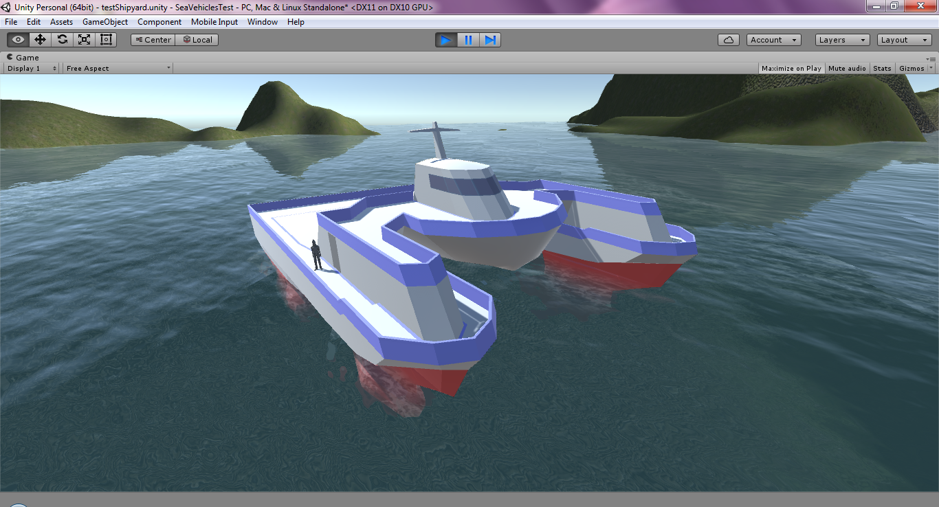 SeaCutter Unity Test (WIP)
