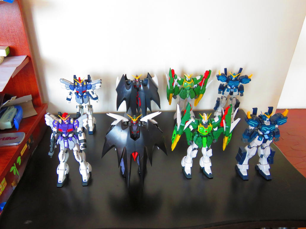 The Wing Boys Got their MG upgrade by halconfenix