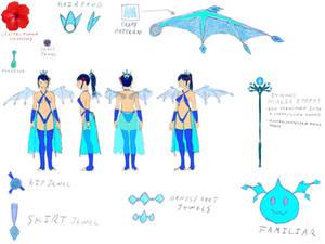 Concept Sketch: Fiji the Artesian gawdess