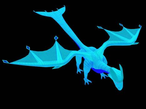 3D Model: Gus the Artesian Dragon
