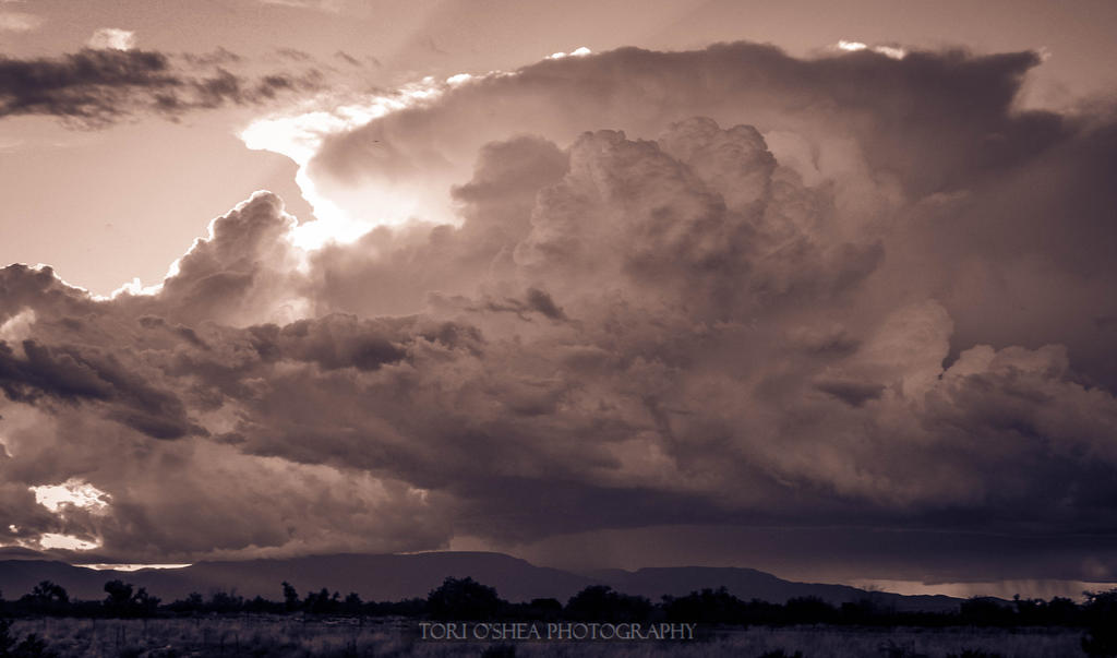 Camp Verde Severe Storm I by thegirlcalledratha