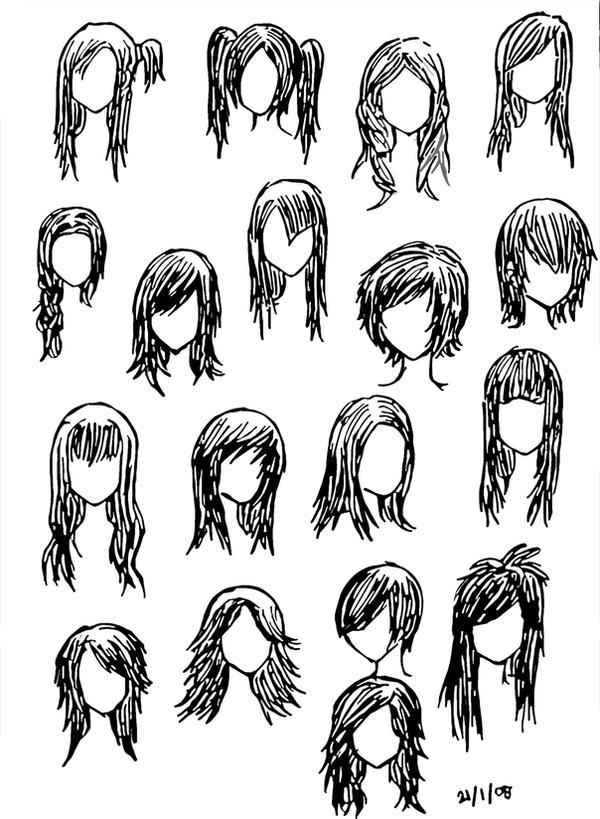 Fine Cool Anime Hairstyles For Girls Short Hairstyles For Black Women Fulllsitofus