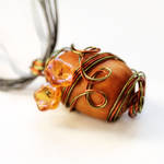 Elven Acron Necklace - Sold