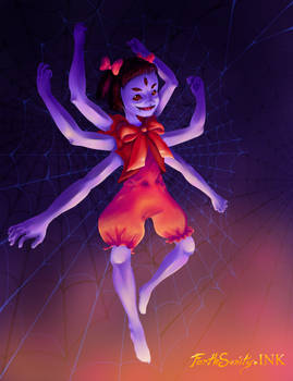 ::Little Miss Muffet Sits in Her Web::