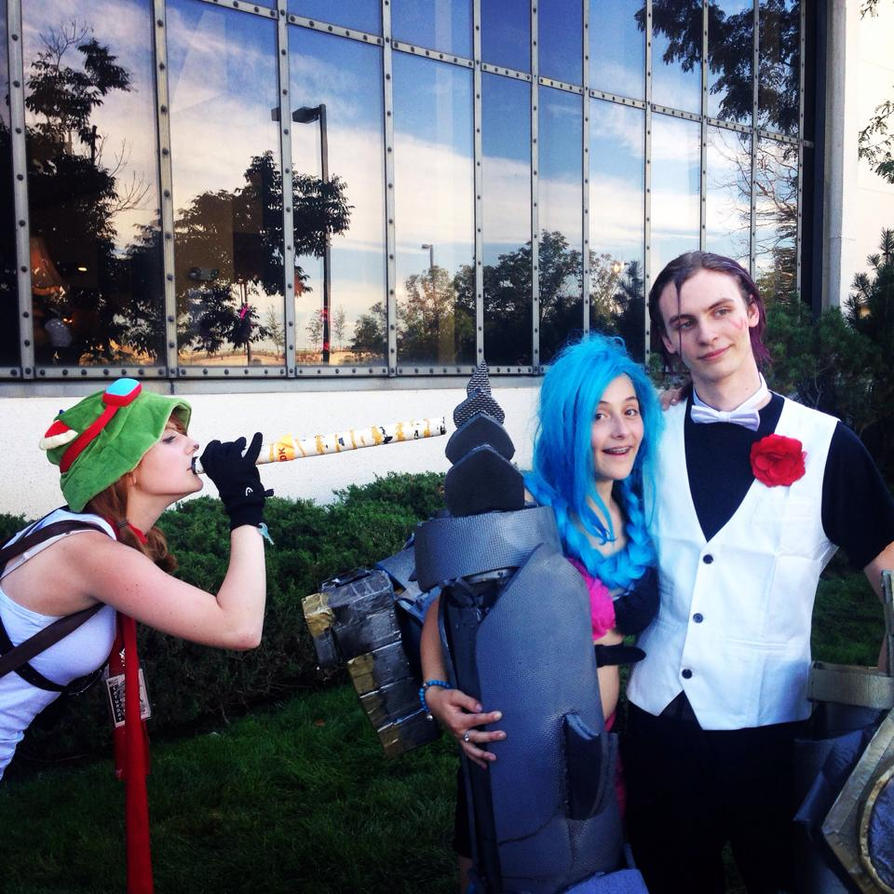 TEEMO JINX AND VI- LEAGUE OF LEGENDS COSPLAYS by animalzamzam