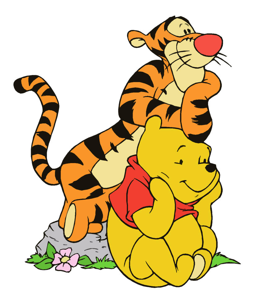 Winnie the Pooh and Tigger by Ripp3r89Baby Winnie The Pooh And Tigger