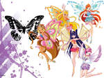 winx club enchantix wallpaper