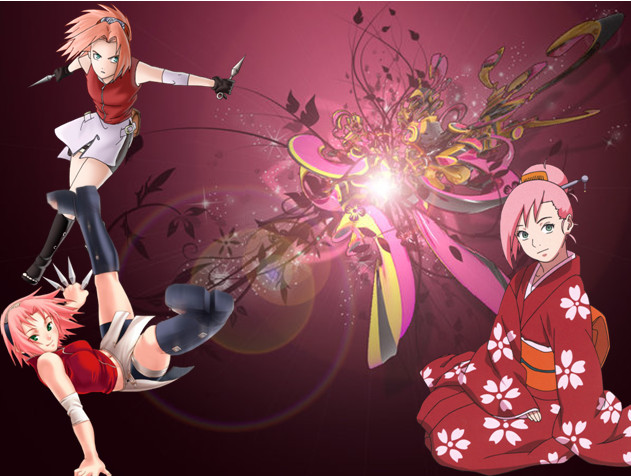 naruto sakura wallpaper by shadowcat1510 on DeviantArt