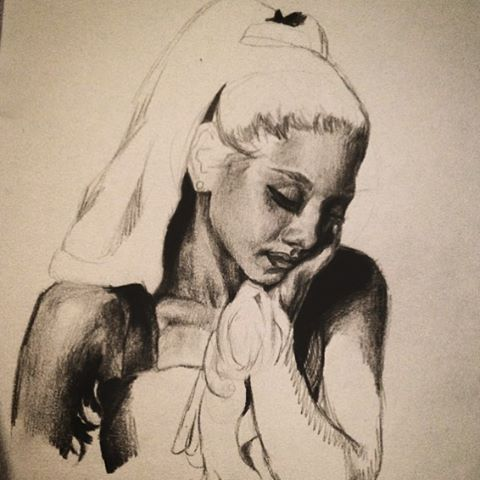 Ariana (unfinished) by ghostgirlgotscared