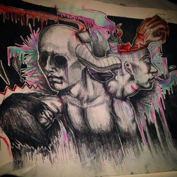 school Art Project by ghostgirlgotscared