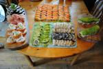 Sushi PAARTAY!!!