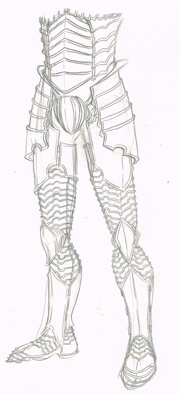 Another Armor Doodle by DanoGambler