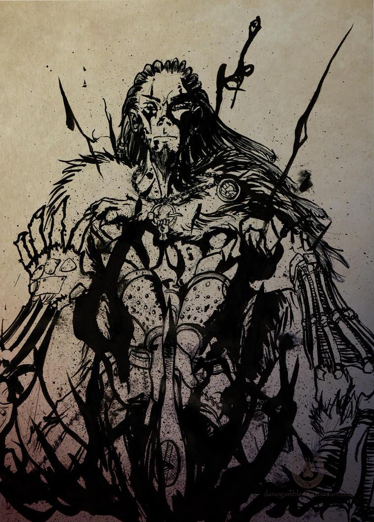 Ulvas the Beastslayer by DanoGambler