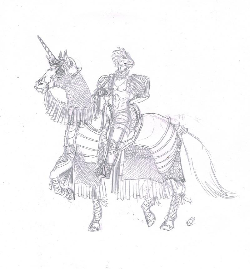 D'appant's Horse by DanoGambler