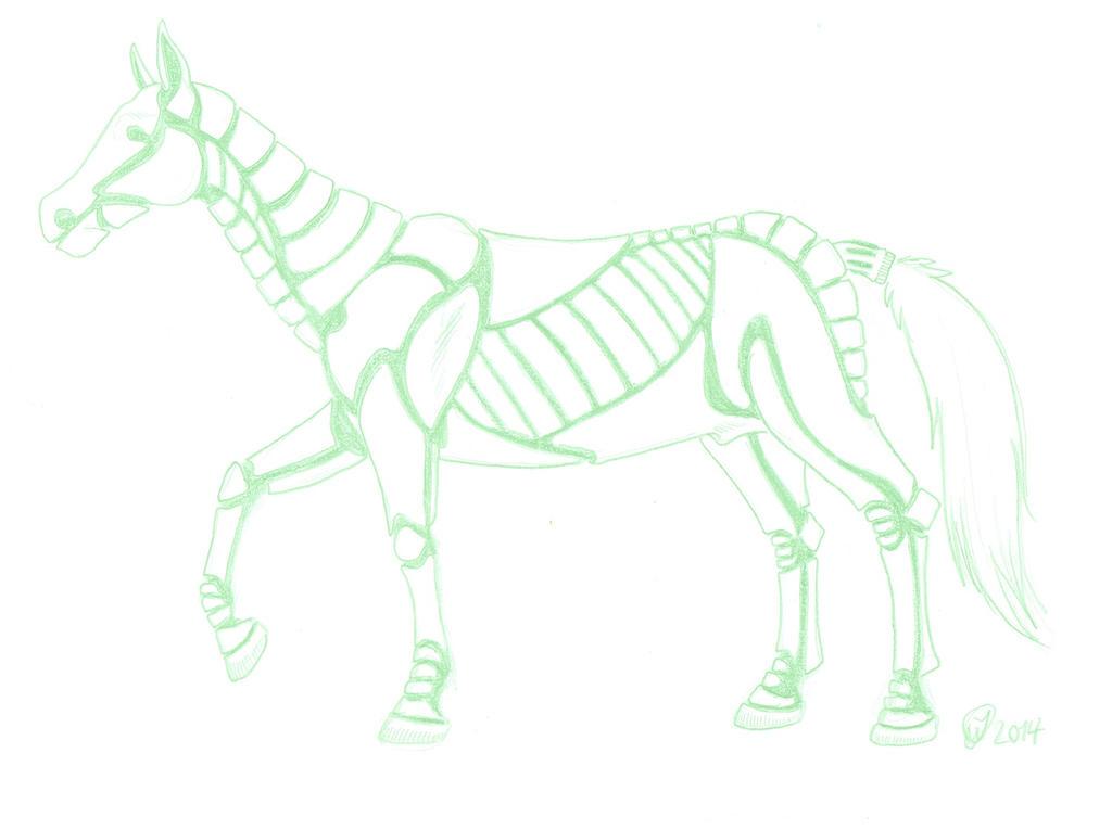 Jorgen the Horse by DanoGambler