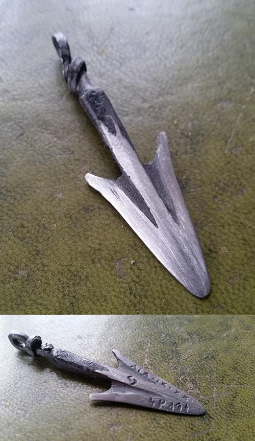 Arrow Pendant by DanoGambler
