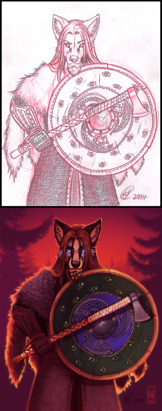 The Guardian (Collab With Lilaira) by DanoGambler
