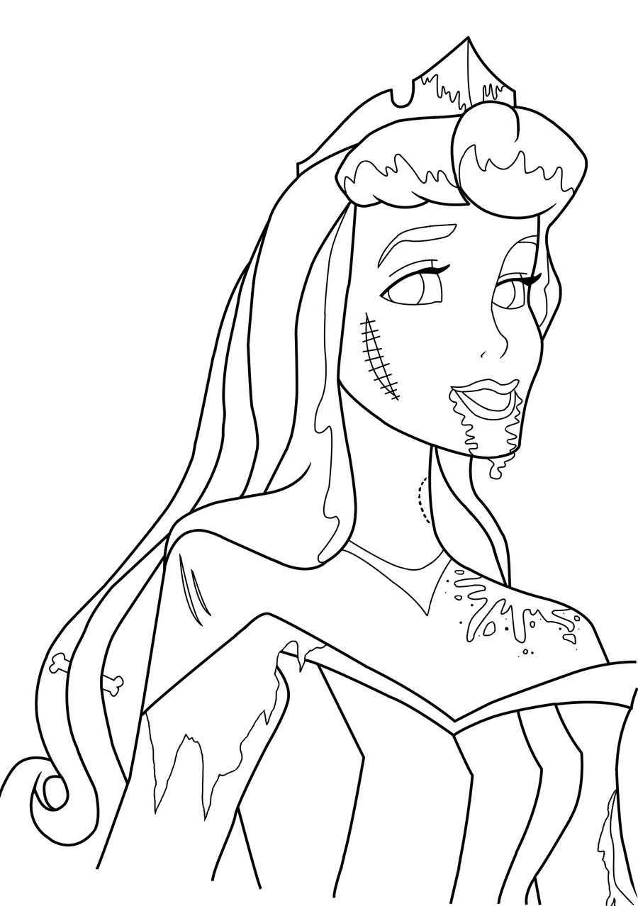 Disney Zombies Movie - Free Coloring Pages