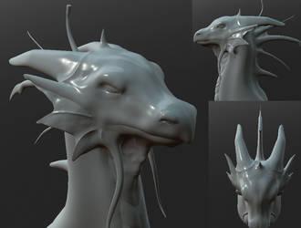 Faerie Dragon by Maroochy