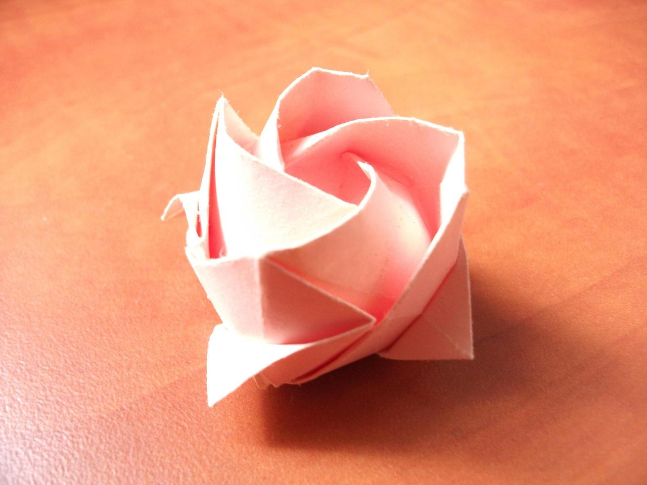 Origami - Kawasaki Rose by KomplexGyok on DeviantArt - photo#3
