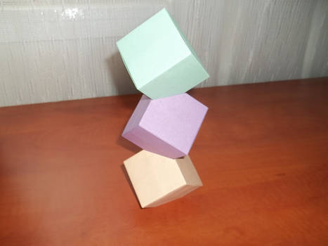 Origami - Cube Tower
